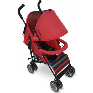 Καρότσι Just Baby Flexy (Κόκκινο) & Δώρο ομπρέλα (507.098.001)