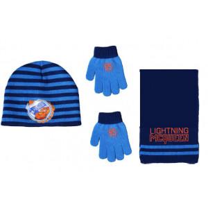 Σκουφάκι & Κασκόλ & Γάντια Cars Disney (Μπλε) (Κωδ.200.503.030)
