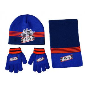 Σκουφάκι & Κασκόλ & Γάντια Star Wars Disney (Μπλε) (Κωδ.200.503.022)