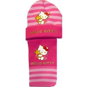 Σκουφάκι & Κασκόλ Hello Kitty Disney (Ροζ) (Κωδ.161.503.207)
