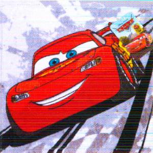 Πετσετάκι - Λαβέτα Cars Disney (Γκρι) (Κωδ.621.001.039)