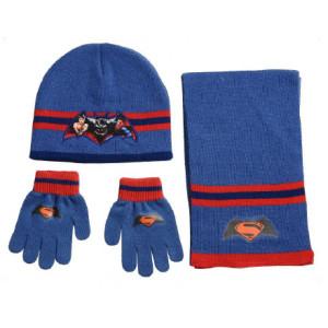 Σκουφάκι & Κασκόλ & Γάντια Batman VS Superman Disney (Ραφ) (Κωδ.200.503.023)