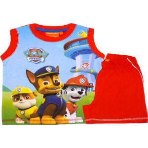 Σετ Παιδικό X/Μ Μακώ Paw Patrol Disney (Κόκκινο) (Κωδ.200.43.006)