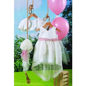 Ολοκληρωμένο πακέτο βάπτισηs με αυτό το φόρεμα (Carrousel #703-1#) Με βαλίτσα rain η παγκάκι θρανίο Δωρεάν μεταφορικά!