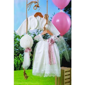 Ολοκληρωμένο πακέτο βάπτισηs με αυτό το φόρεμα (Carrousel #715-1#) Με βαλίτσα rain η παγκάκι θρανίο Δωρεάν μεταφορικά!