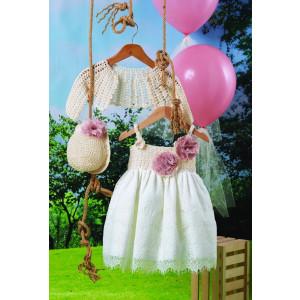 Ολοκληρωμένο πακέτο βάπτισηs με αυτό το φόρεμα (Carrousel #716-1#) Με βαλίτσα rain η παγκάκι θρανίο Δωρεάν μεταφορικά!