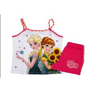 Μπλούζα & Σόρτσ (Μακώ) Frozen Disney (Φουξ) (Κωδ.200.60.006)