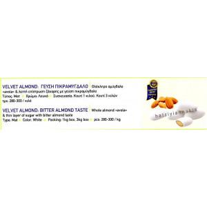 Velvet Almond: Γεύση πικραμύγδαλο