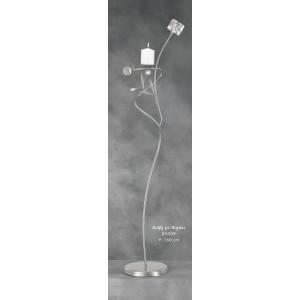 Λαμπάδα Φωτιστικό Νιόβη με Παγάκι (Κωδ.89069) (Η τιμή αφορά 2 Τεμάχια)