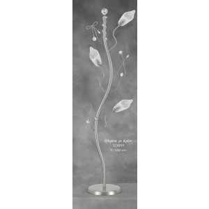 Λαμπάδα Φωτιστικό Όλυμπος με Κρίνο (Κωδ.123095) (Η τιμή αφορά 2 Τεμάχια)