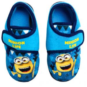 Παπουτσάκι (Παντοφλάκι) Minions Disney (Μπλε) (Κωδ.200.149.073)