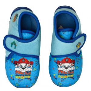 Παπουτσάκι (Παντοφλάκι) Paw Patrol Nickelodeon (Σιελ) (Κωδ.200.149.072)