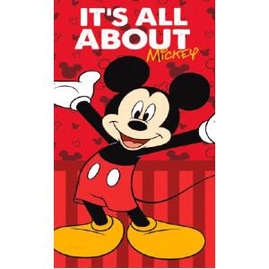 Πετσέτα Θαλάσσης Mickey Disney (Κόκκινο) (Κωδ.200.506.060)