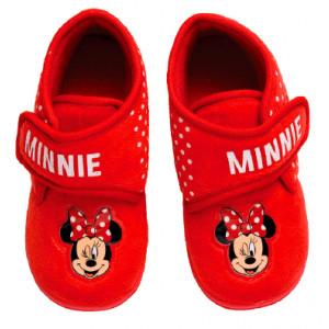 Παπουτσάκι (Παντοφλάκι) Minnie Disney (Κόκκινο) (Κωδ.200.149.068)