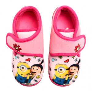 Παπουτσάκι (Παντοφλάκι) Minions Disney (Ροζ) (Κωδ.200.149.070)