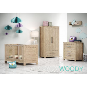 Casababy Set Κρεβάτι & Συρταριέρα (Woody). Ζητήστε προσφορά