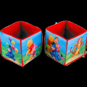 Κουτιά Παιχνιδιών Πάνινα Winnie 2 Τεμ. (560/4) Disney (Κωδ.111.01.098)