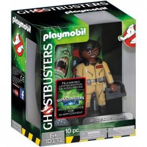 Playmobil Ghostbusters Συλλεκτική Φιγούρα  Γουίνστον Ζέντμορ 70171