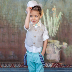 Ολοκληρωμένο σετ βάπτισης αγόρι Carousel 109.169Β.349 narlis.gr