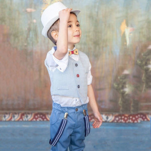 Ολοκληρωμένο σετ βάπτισης αγόρι Carousel 282.104.350 narlis.gr