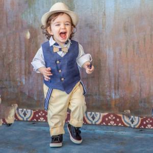 Ολοκληρωμένο σετ βάπτισης αγόρι Carousel 281.167.309 narlis.gr