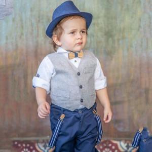 Ολοκληρωμένο σετ βάπτισης αγόρι Carousel 204.265.307 narlis.gr