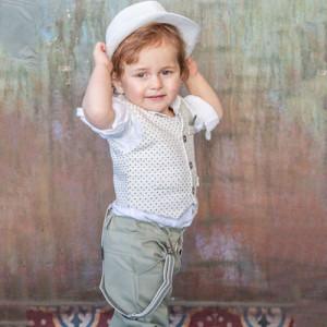 Ολοκληρωμένο σετ βάπτισης αγόρι Carousel 277.170.306Β  narlis.gr