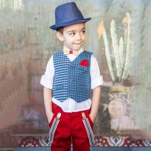 Ολοκληρωμένο σετ βάπτισης αγόρι Carousel 274.168Β.301 narlis.gr