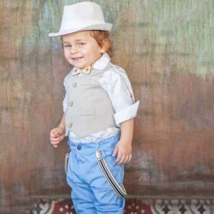 Ολοκληρωμένο σετ βάπτισης αγόρι Carousel 250.140.344 narlis.gr