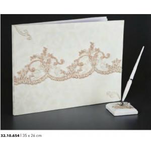 Βιβλίο ευχών γάμου 35Χ26cm Rodia 32.10.654(30)