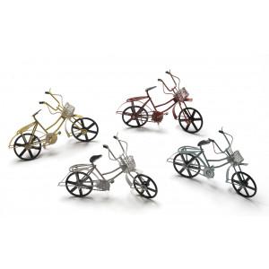 Ποδήλατα μεταλλικά με καλάθι (10Χ18εκ)922185