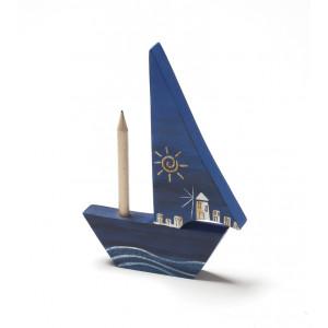 Καράβι μολυβοθήκη με ζωγραφιά 1314095