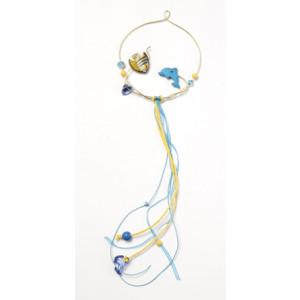 Ονειροπαγίδα ψαράκια με κορδόνια (διαμ.11εκ) 1227185