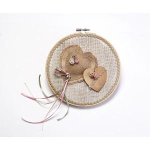 Τελάρο καρδιές διακοσμητικό για λαμπάδα-κουτί 1472700-1500