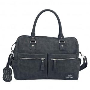 Koelstra Τσάντα με αλλαξιέρα Ανθρακί Σκούρο (265.102.007)