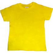 Μπλούζα Κ/Μ Μονόχρωμη (Κίτρινο) (Κωδ.200.10.026) <Για παραγγελία μεγαλύτερη των 10τμχ η Τιμή είναι 3,5€)>